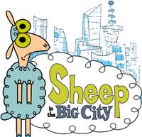 Sheep in the big city logo