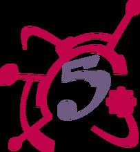 Xhgc canal 5 logo 1996 by ncontreras207-d7meoux