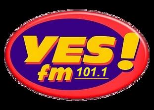 Yes FM 101.1 Logo 1998