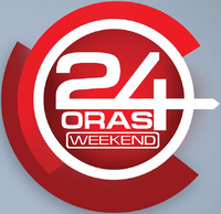 24 Oras Weekend Alternate Logo (2014)