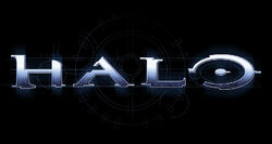 Logo Halo (Original - Black & Pattern)