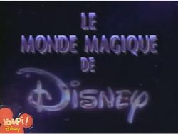 Le monde magique de disney tf1 1989 logo