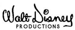 Walt Disney logo 60s