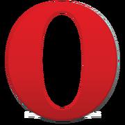 Opera browser logo 2013 vector