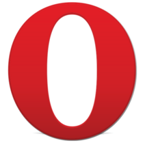 Opera browser logo 2013 vector