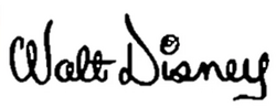 Walt Disney logo 60s 1