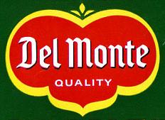 Del Monte logo 60s