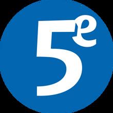 Le cinquieme 1999 logo
