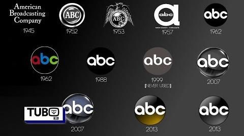 "ABC - ""American Broadcasting Company"" ID logo history 1942-2016"