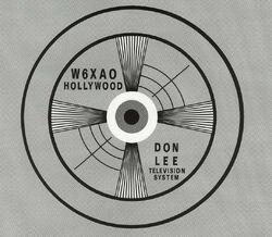 W6XAO logo 1931-1964