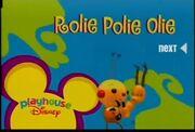 Playhouse Disney Rolie Polie Olie Christmas Bumper