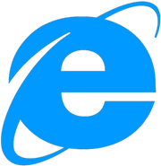 Internet Explorer 4 and 5 logo