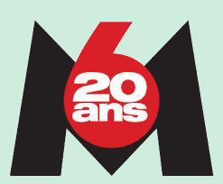M6 20 ans 2007 logo