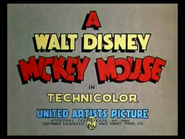 Mickey Mouse logo 2001