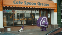 Cafe spoon grease