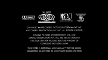 The Scarlet Letter MPAA Card