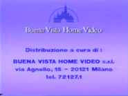 Buena Vista Home Entertainment Logo 1989 d Buena Vista Home Video