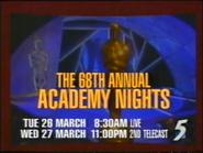 CH5 promo - 68th Annual Academy Nights - 1996