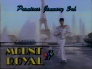 4TV promo Mount Royal 1987 2