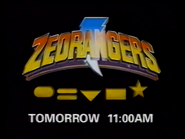 CH5 promo - Zeorangers - 1997