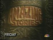 NBC promo - Amazing Stories - 3-25-1987