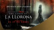 Univision sponsorship billboard - The Curse of La Llorona - 2019