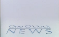 One o Clock News opening