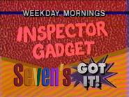 Seven promo - Inspector Gadget - 1992