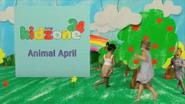 TVNE Kidzone 24 promo - Animal April - 2014
