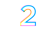 RTCT 2 Ident - Coloured Lines