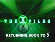 CH5 promo - The X Files - 1996