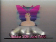 TBG Pearl 1986 Miss TV Pageant promo 1985