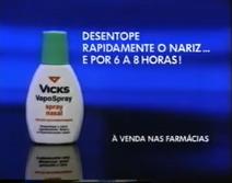 Vicks VapoSpray ad 1993