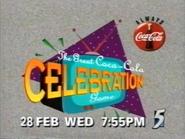 CH5 promo - The Great Coca-Cola Celebration Game - 1996