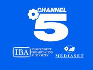 Channel 5 IBA Mediaset slide