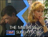 TV One the mistress 1989