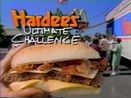 Hardee's Ultimate Bacon Cheeseburger URA TVC 1994 - 1