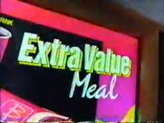 McDonald's URA Extra Value Meal TVC 1991 - Part 1