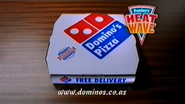 Dominos AS TVC - Heat Wave - 2000