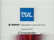 TVL endcap 2004 Cinealdia