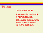 TV AM Fault 1976