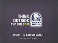 Taco Bell URA TVC - Open Til 1 AM Or Later - 2006