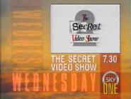Sky One promo - The Secret Video Show - 1990