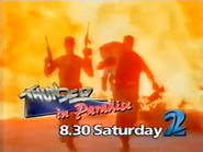 TVNE2 promo - Thunder in Paradise - 1995