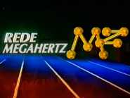 Megahertz - Red and blue with lines