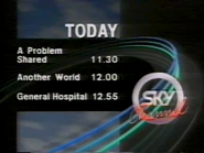 Sky Channel Today lineup 1989 1