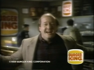 Burger King 99 Cent Double Cheeseburger TVC - 1-29-1989 - 2