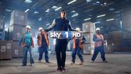 Sky 1 ID - Ashley Banjo's Secret Street Crew - 2013