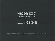 Mazda CX-7 URA TVC 2006 - 2