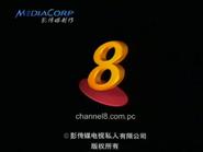 Channel 8 endcap 2001